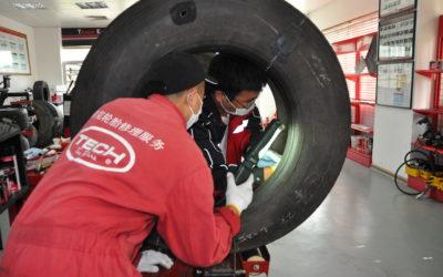 泰克轮胎修理技术培训直播首播!